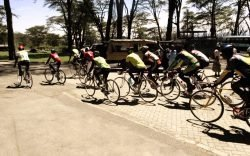 Cycle with the Rhino race raises money to rehabilitate Lake Nakuru National Park's 74 KM electric fence and support community conservation projects.