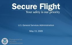 7 Things Asked About Secure Flight Passenger Data