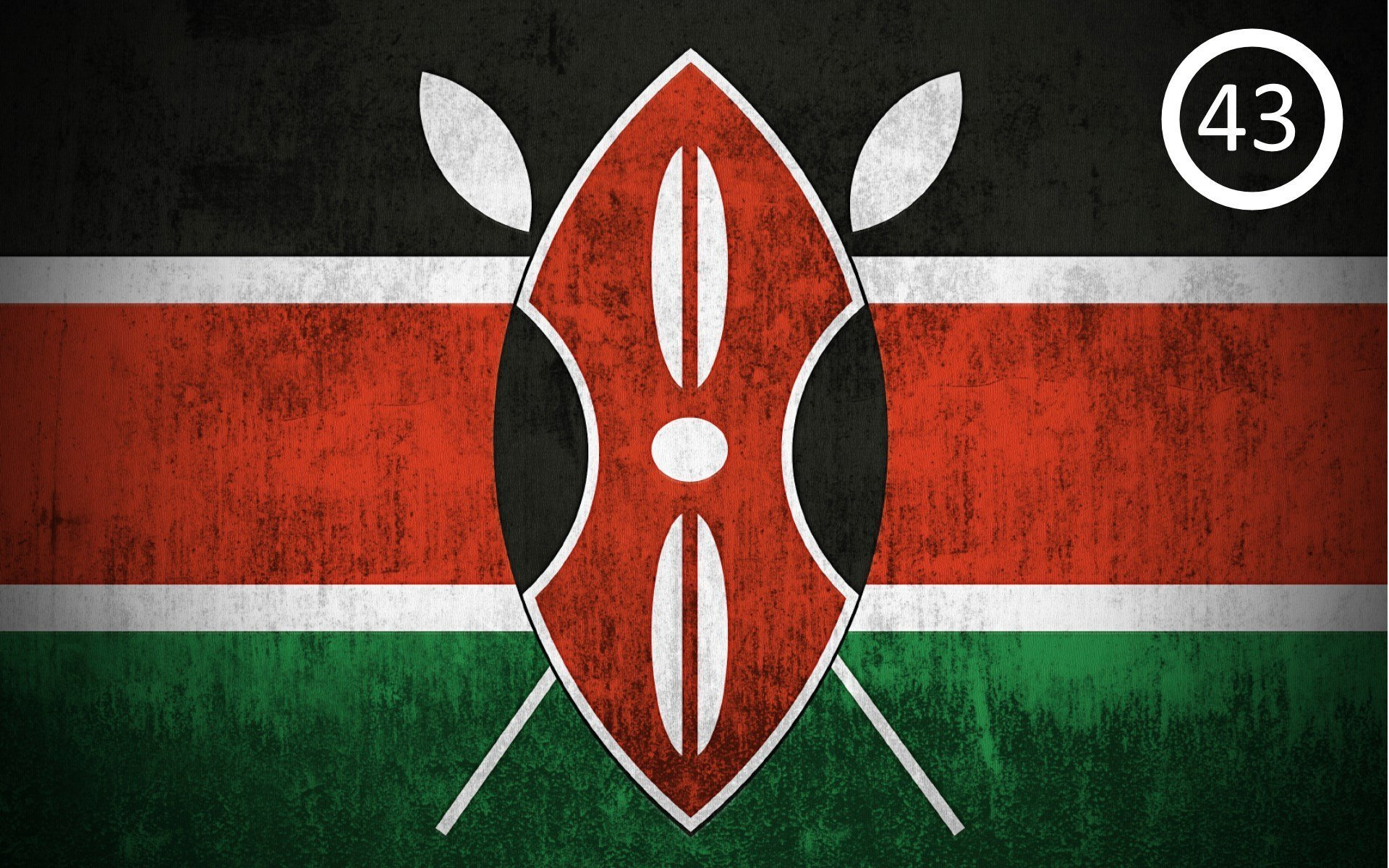Did you know there are guys who rank flags of countries by how beautiful they are? Apparently the Kenyan flag is ranked among 50 of the most beautiful flags. The most beautiful belongs to Mexico.