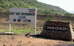 Magadi town has been making the headlines lately with its new tourist sensation – the hot springs of Lake Magadi that provide natural Jacuzzis.
