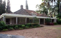 Did you know the abandoned house the 1985 Oscar Award-winning film, Out of Africa, was shot in was not the same one Karen Blixen lived in? It actually belonged to Ngina Kenyatta.