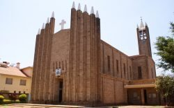 When St Joseph Cathedral was built in 1957, the mission in Mujwa had just been attacked by the Mau Mau who killed a Nun and wounded a Priest.