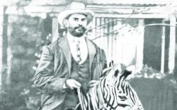 Dr. Ribeiro is well remembered for his peculiar habit of making house calls on the back of a zebra he had personally trained but who was he?