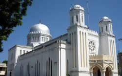 Mombasa Memorial Cathedral is no ordinary place. First, it dates to the colonial times. Second, it is made of coral-stone and third, it looks like a mosque.