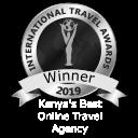 WINNER: Kenya's Best Online Travel Agency 2019