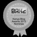 NOMINEE: Kenyan Blog Awards 2013
