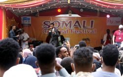 The first Somali Cultural Festival is going on at the Two Rivers Mall but is it me or the event depicts very little Somali culture and art?